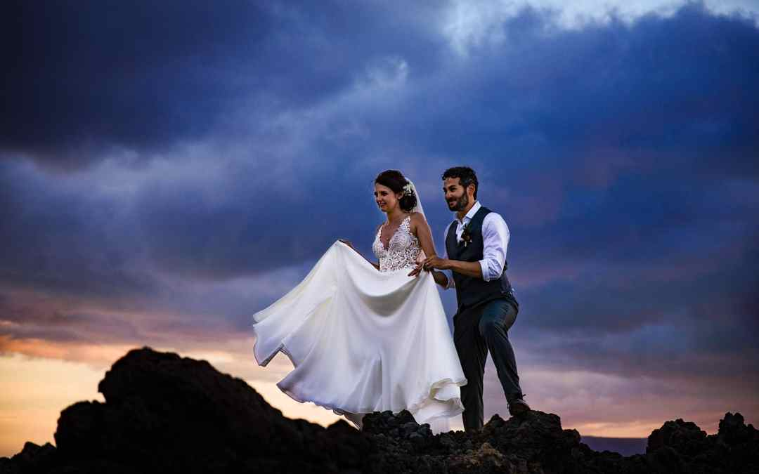 Beautiful Kukahiko Estate Wedding in Maui, Hawaii