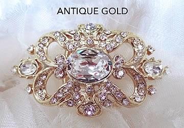 Antique Gold Brooch