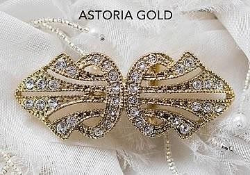 Astoria Gold Brooch