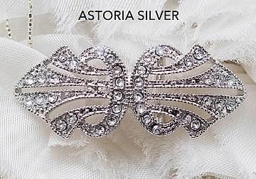 Astoria Silver Brooch