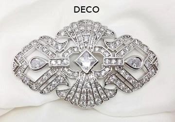 Deco Brooch