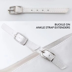 Buckle on Ankle Strap Extenders