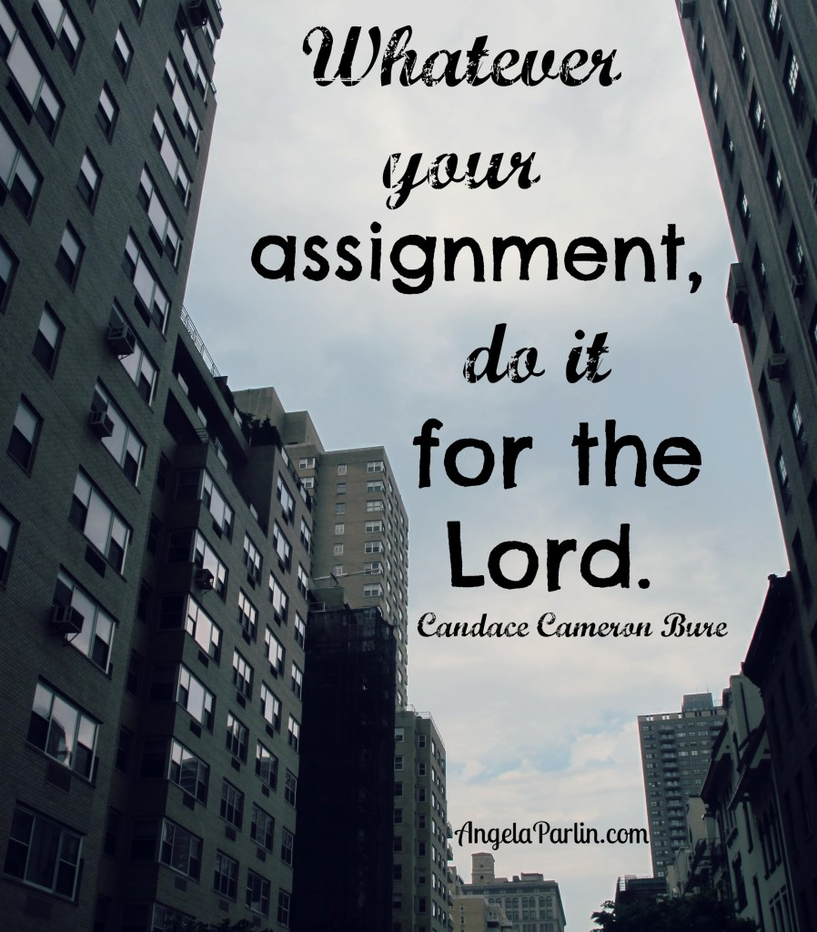 assignment do for God
