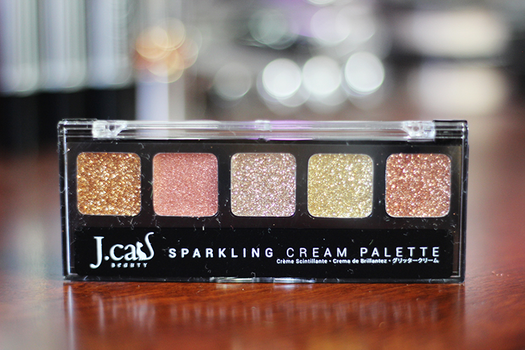 J Cat Sparkling Cream palette June Ipsy Glam Bag