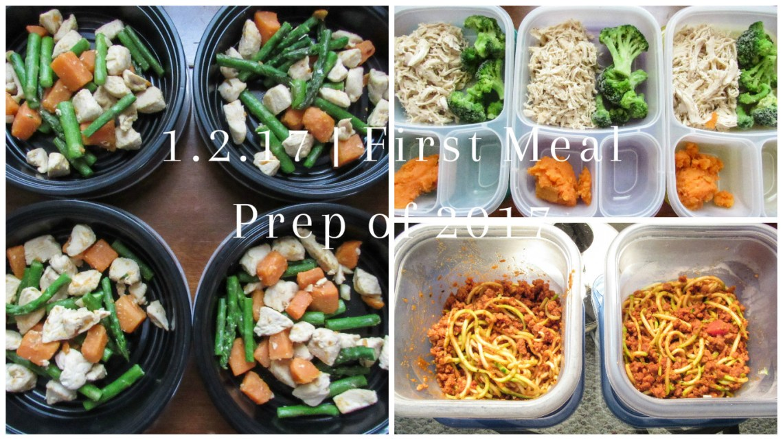 Meal Prep Sunday - 1.2.17