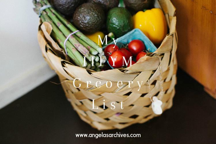 My IIFYM Grocery List