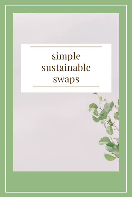 simple sustainable swaps
