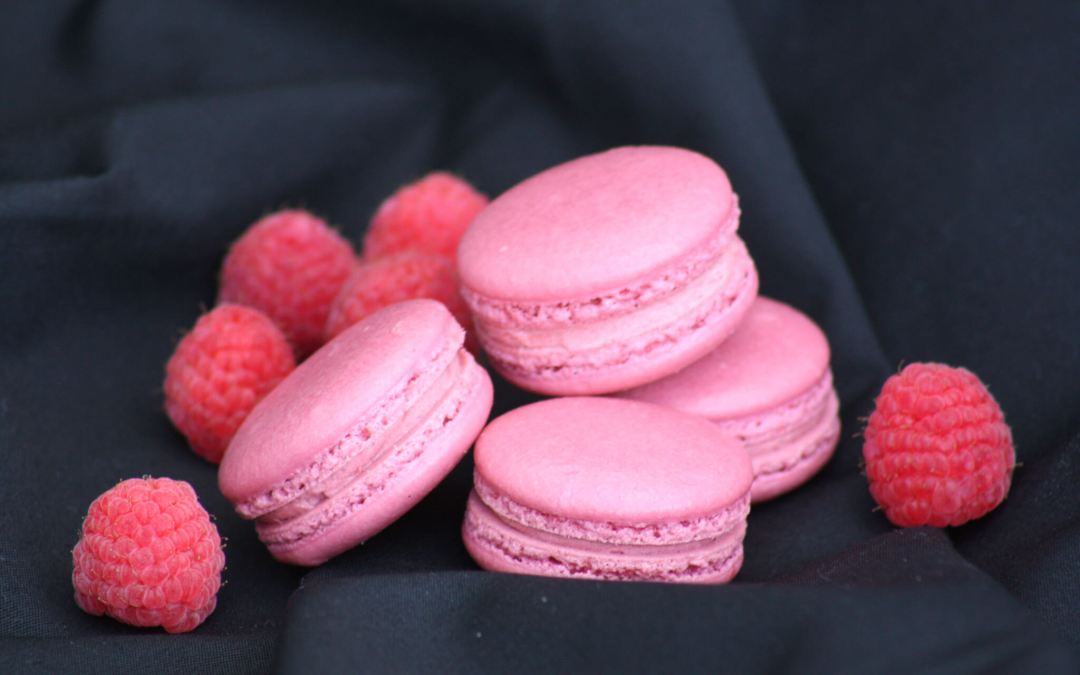 Raspberry Flavored French Macaron Recipe