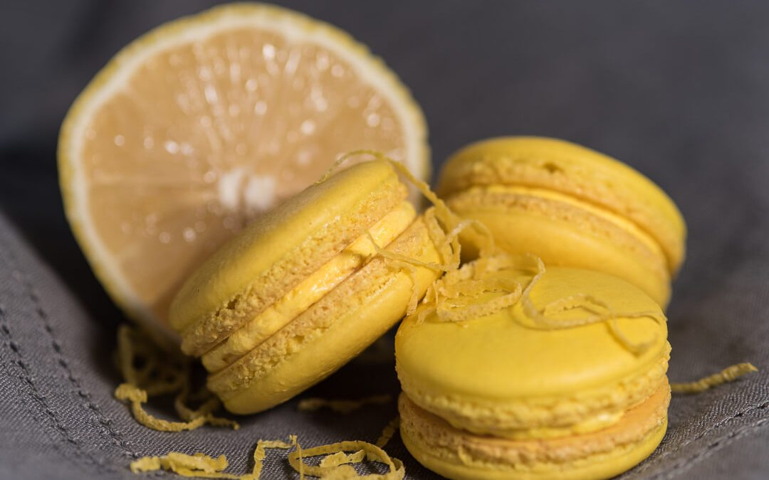 Lemon Flavored French Macaron