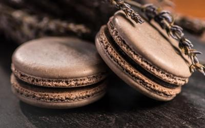 Lavender Flavored French Macaron Recipe