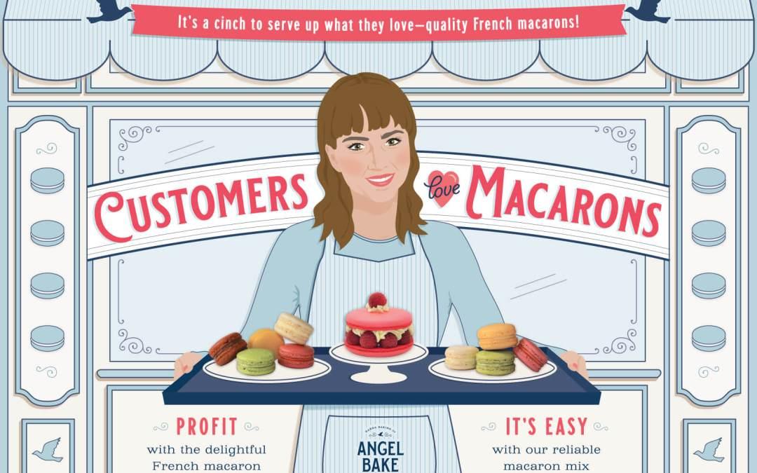 Customers Love Macarons