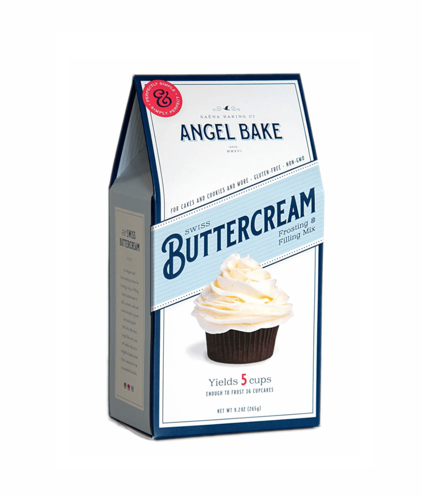 buttercream and frosting baking mix