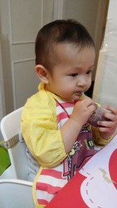 siu ma drinking breastmilk yogurt