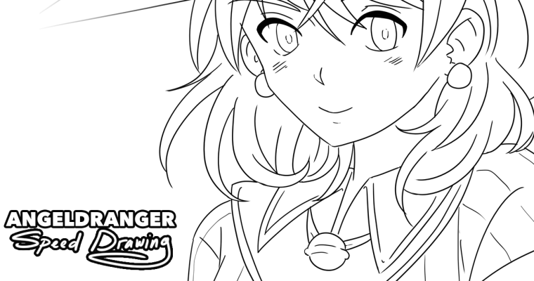 [SpeedPaint] Witch Girl Inking