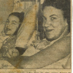 My Mum and her sister in adjacent beds in Crown Street Hospital