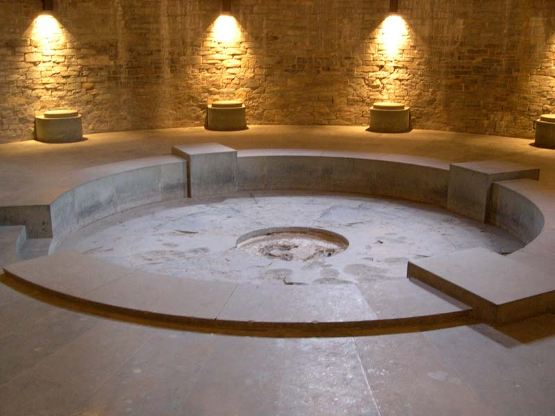 La cripta.