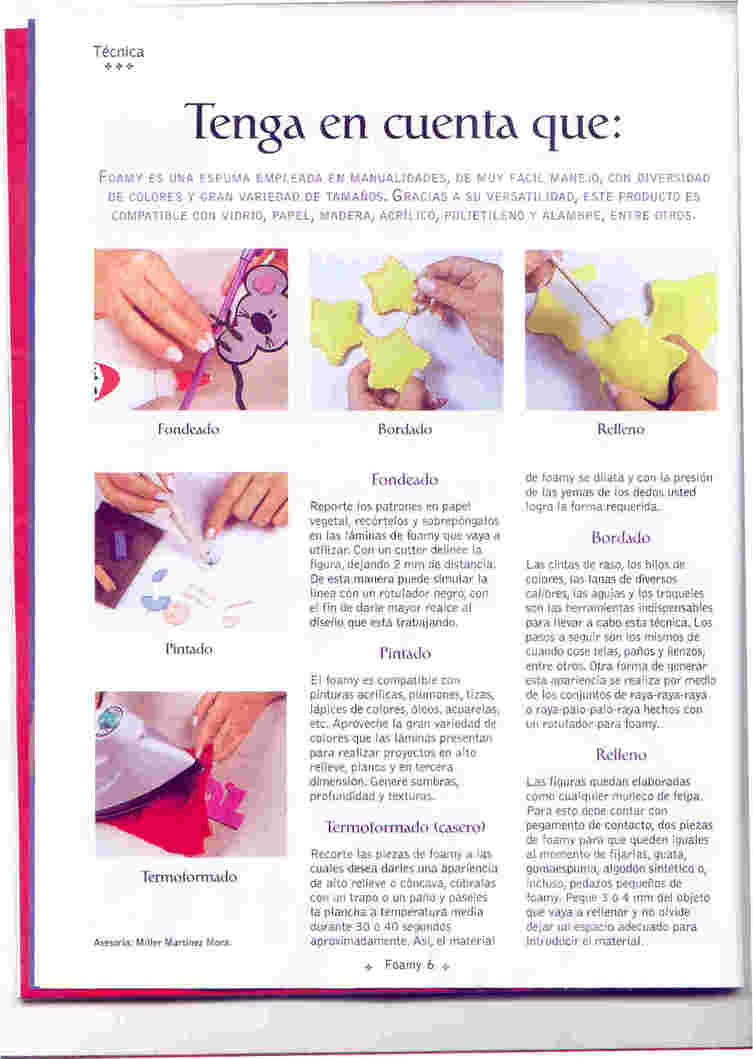 Tips Para Trabajar Goma Eva Angeles Manualidades - Como-trabajar-goma-eva