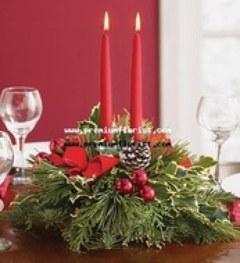 Ideas centro de mesa navide o angeles manualidades - Centro navideno de mesa ...