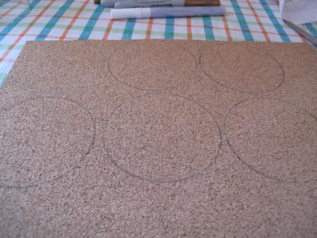 2-marcar-circulos-lamina-corcho