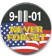 World Trade Center button 2001