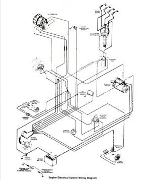 Searay Wiring Diagram for 19 foot 1535 CU IN Mercruser