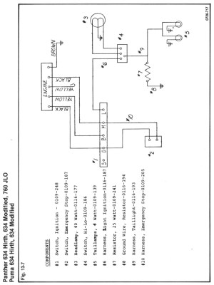 Rupp 634 Wt wiring diagram no lights need some guidence