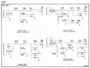 73 Lynx wiring diagram