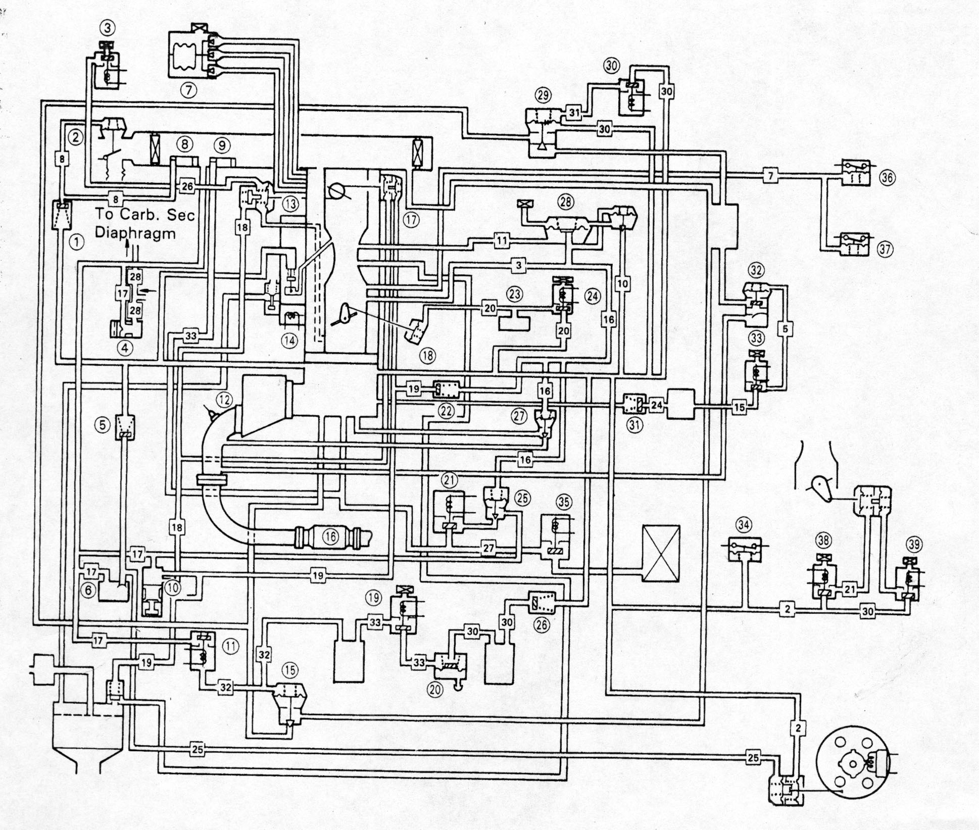 Vacuum Diagram For Accord Carb W Automatic