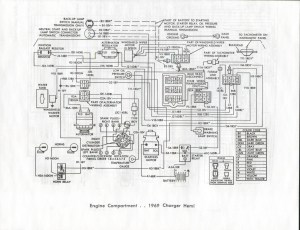 1969 Dodge Charger Instrument Panel Wiring Diagram Free
