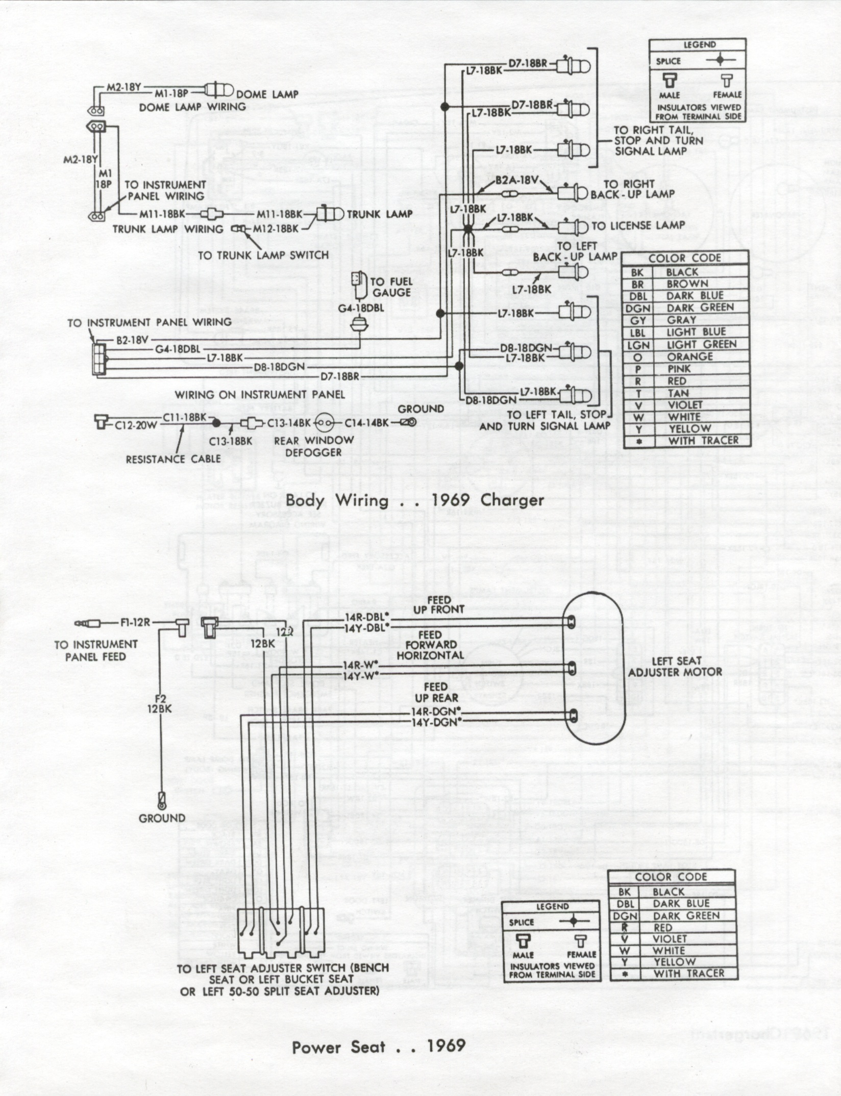 Wrg 69 Charger Headlight Wiring Diagram