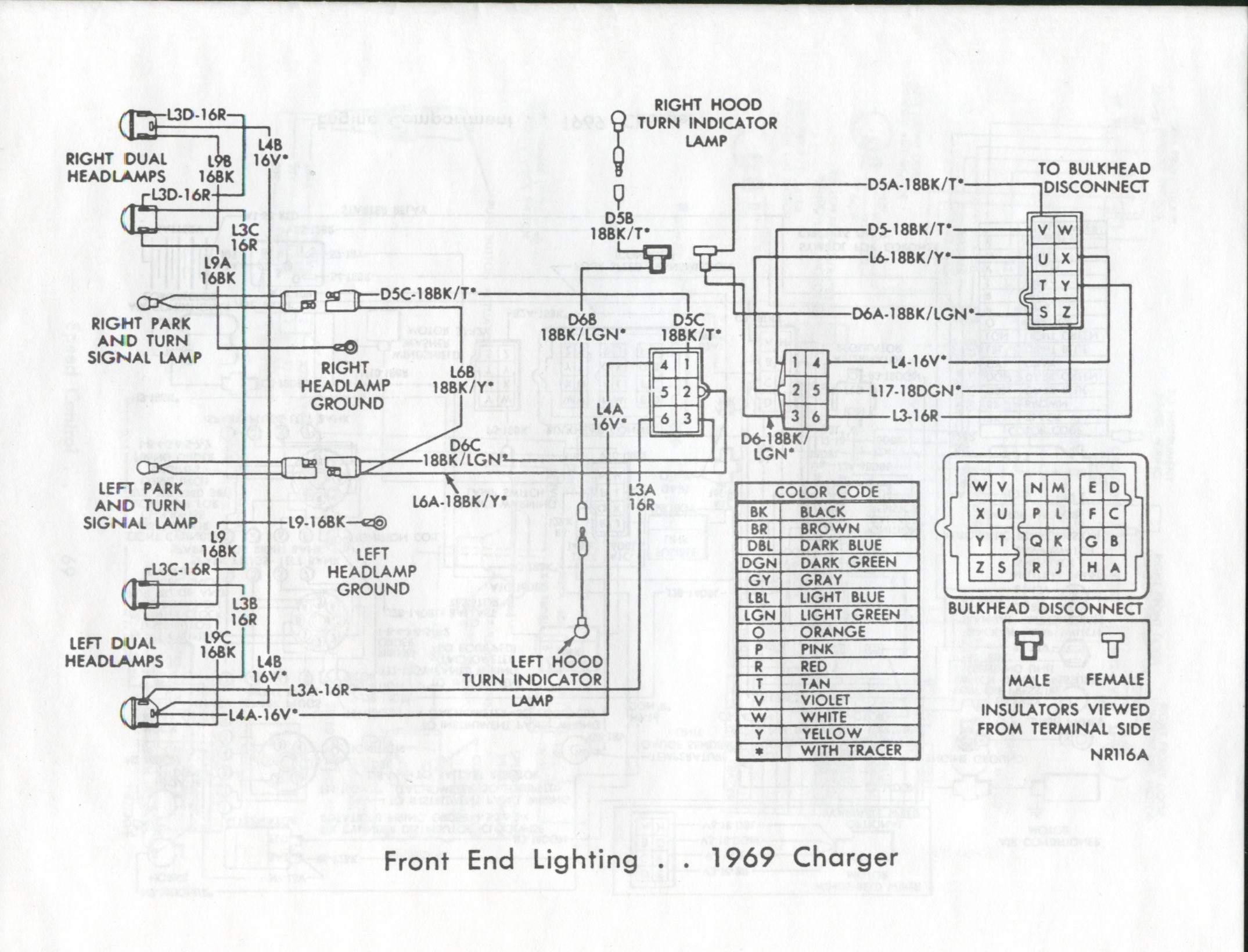 72 Dodge Charger Wiring Diagram