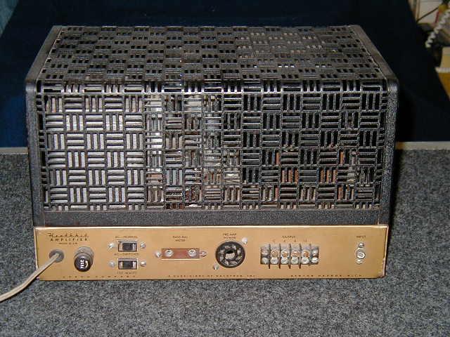 Heathkit W5m Amplifier