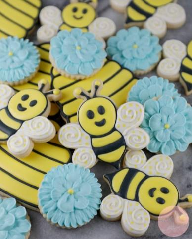 Cute Bumble Bee Cookie Tutorial