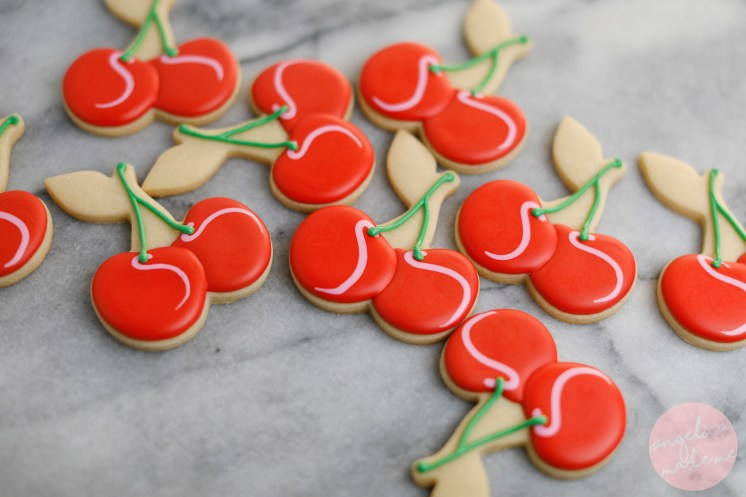 How-to: Cherry Decorated Cookies