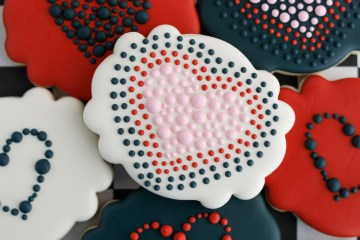 Valentine's Day Heart Sugar Cookies Feature