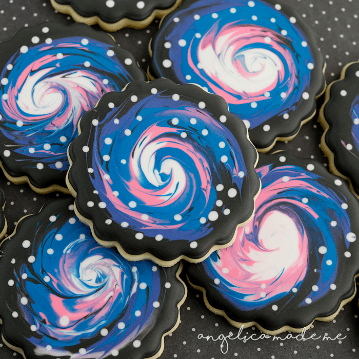 Galaxy / Space Cookies
