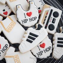 Hip Hop Baby Shower Cookies