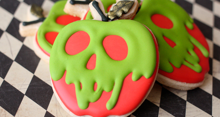 Poison Apple Sugar Cookies