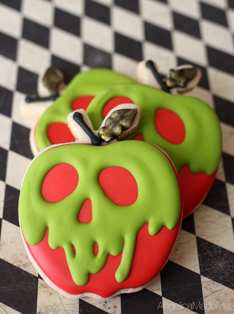Custom Decorated Cookies for Halloween - AngelicaMadeMe