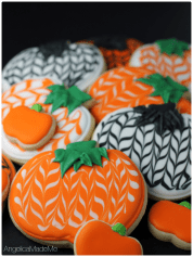 HalloweenPumpkin-Cookies