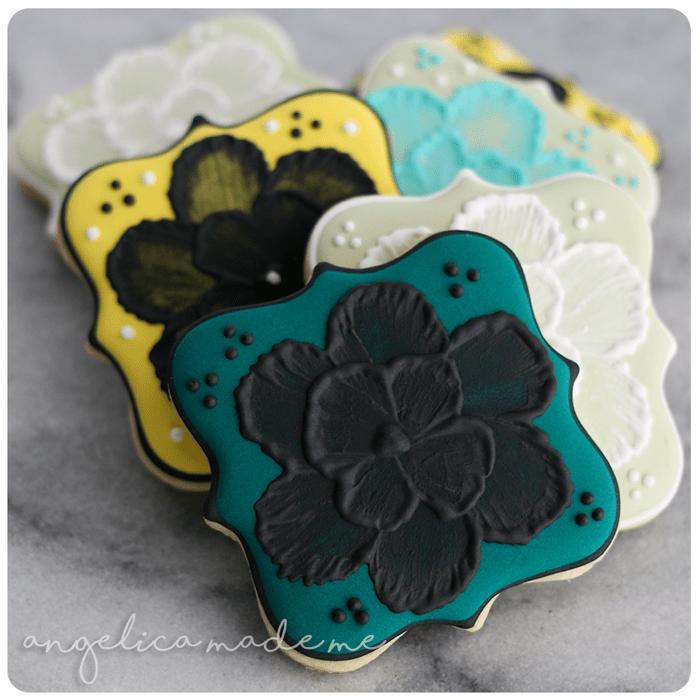 Painted-Flower-Cookies