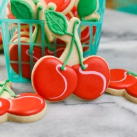 Cute Cherry Cookies