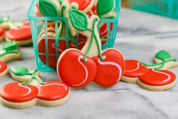 Cherry Decorated Cookies Feature
