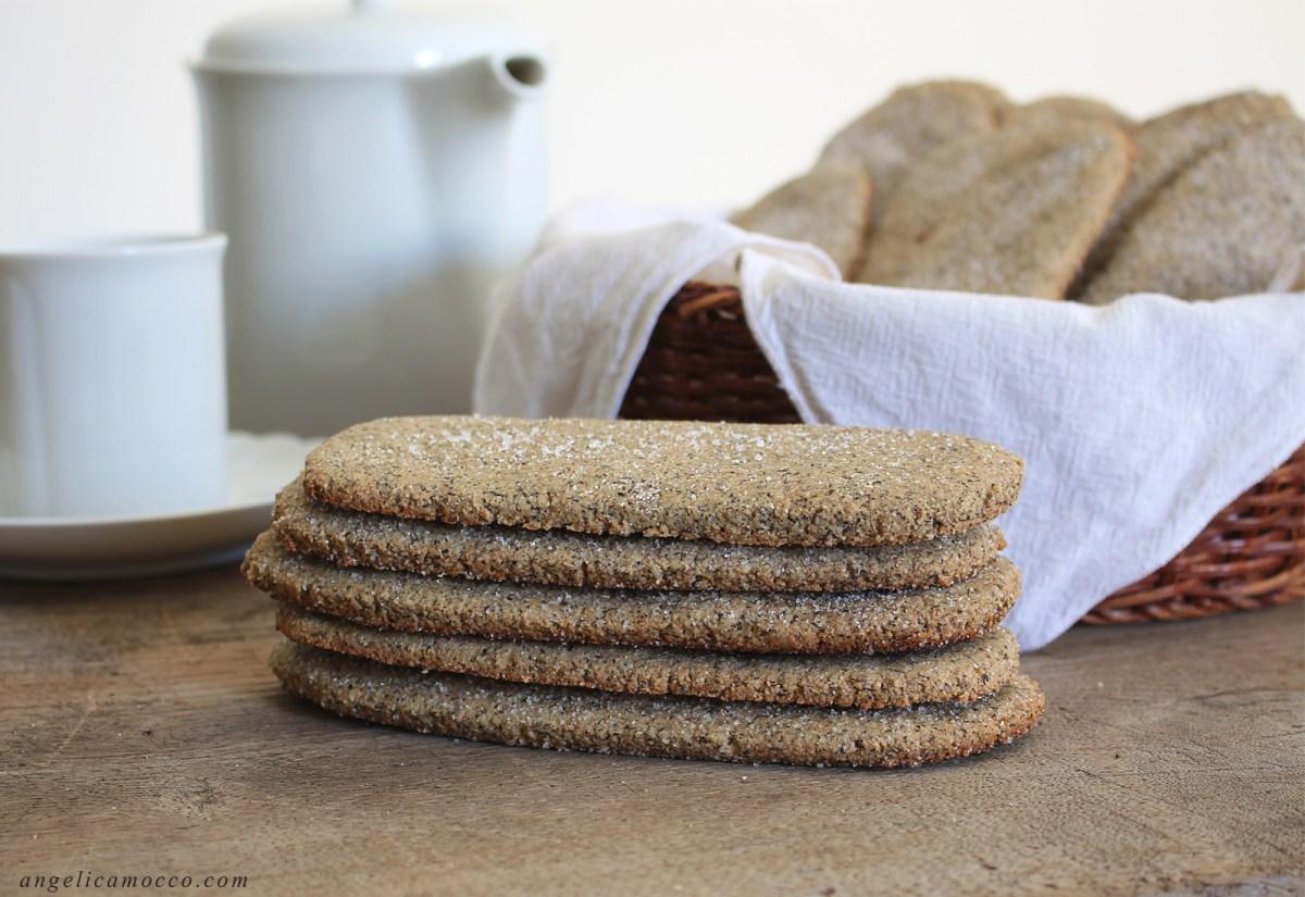 Sas Gallettinas: Biscotti sardi da inzuppo senza glutine