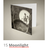 15 kunstkaart Moonlight