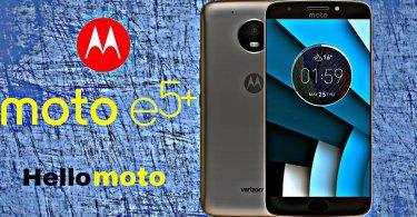 Mototrola Moto E5 Plus