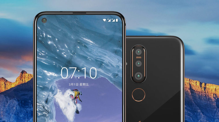 Nokia X71 Display and Design