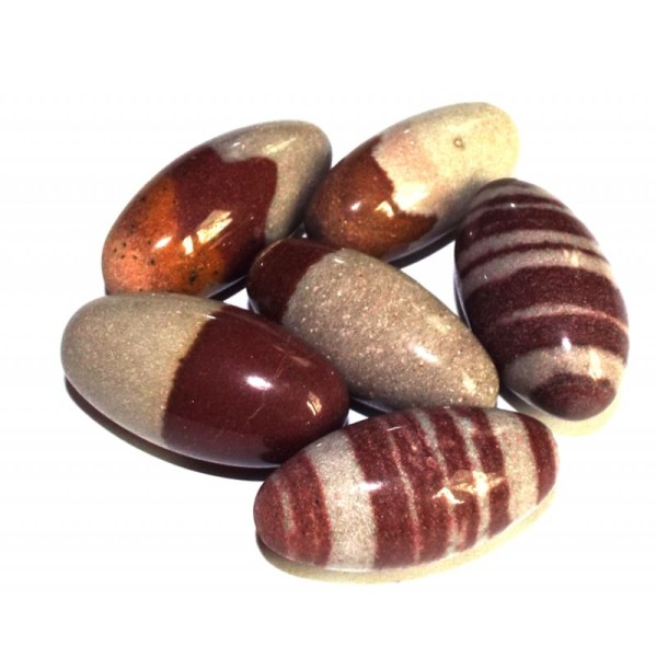 1 x Shiva Lingam Temple Stone From Narmada River India