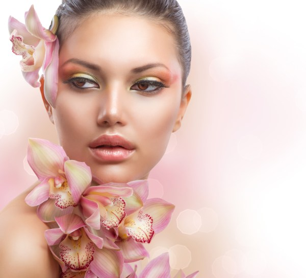 photodune-3321174-beautiful-girl-with-orchid-flowers ...