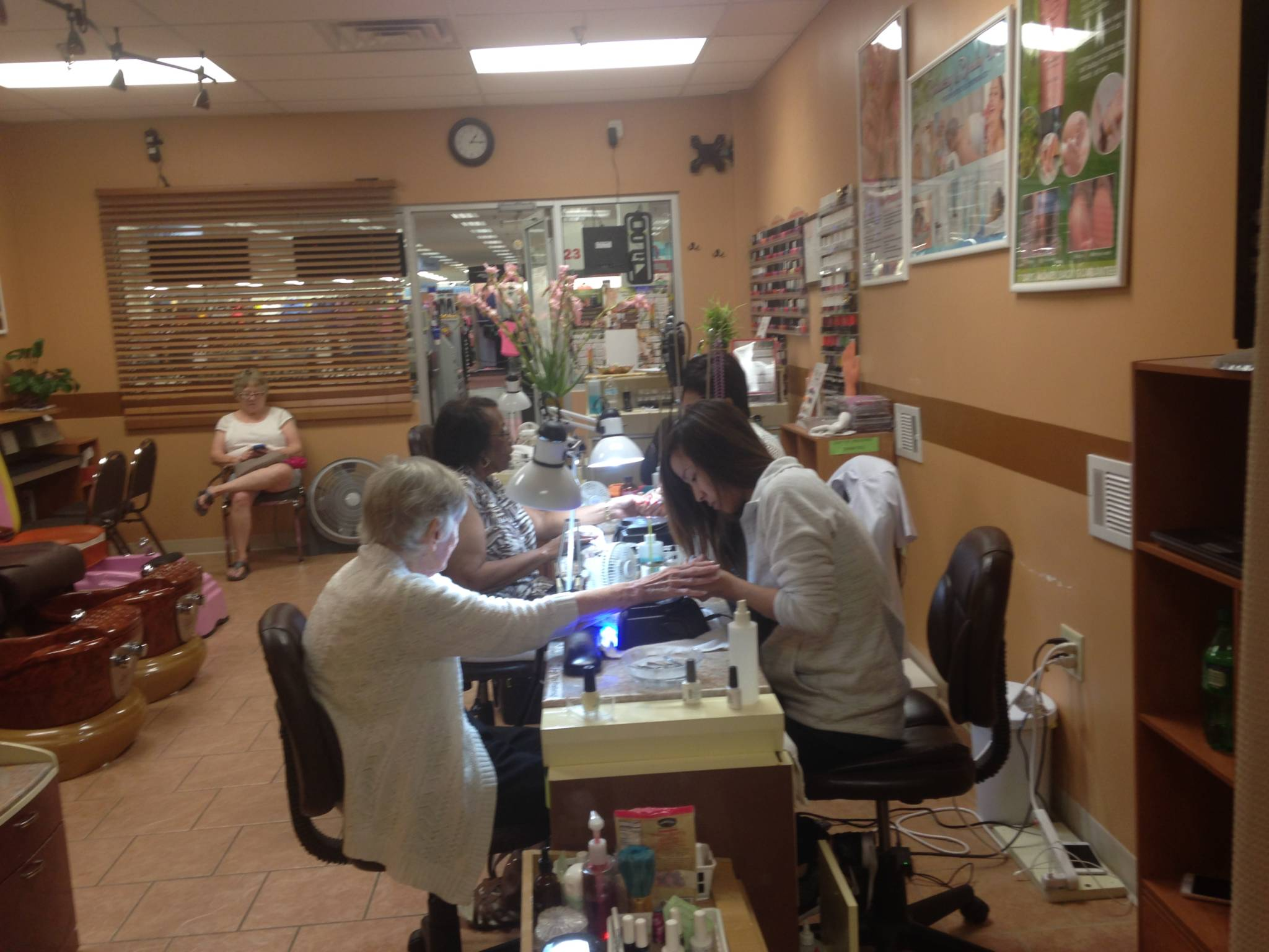 Formed In 2005 Angel Nails Is A Turn Key Nail Salon Franchise Located Primarily Supercenters With Ownership Opportunities